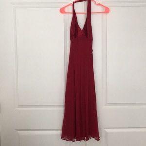 Formal halter dress size 8